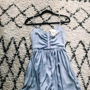 SILK BANANA REPUBLIC MINI DRESS
